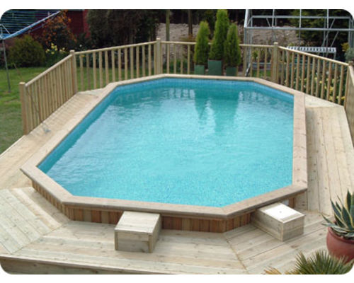 Folkpool 'Amethyst' Timber Swimming Pool