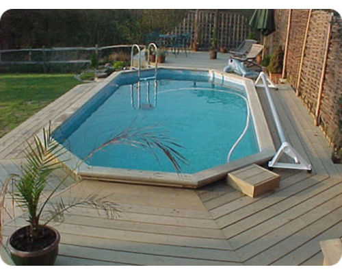 Folkpool 'Pearl' Timber Swimming Pool