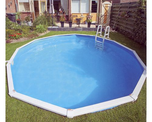 Doughboy 39 premier 39 steel swimming pool for Above ground swimming pools uk