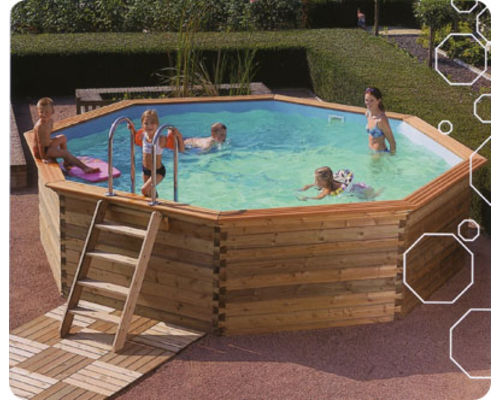 Gardi Octoo Wooden Swimming Pool