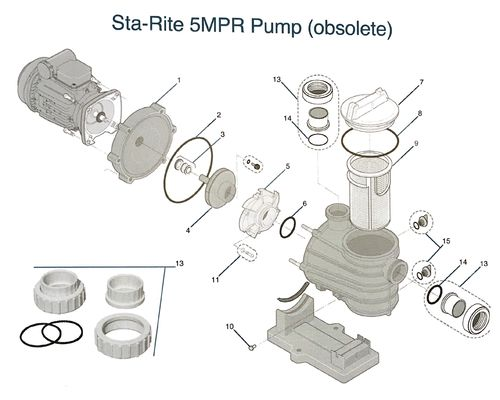 Sta Rite 5MPR Pump Diagram