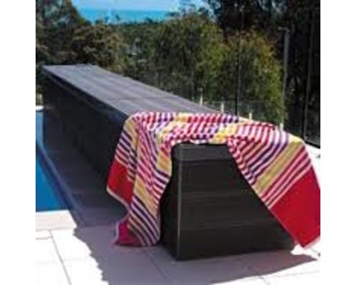 Sunrise pool cover reel system 2