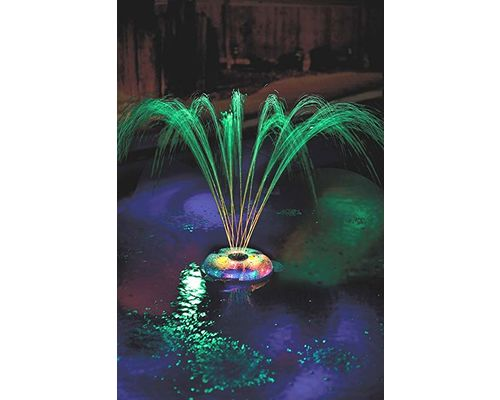 Underwater Light Show and Fountain Spray