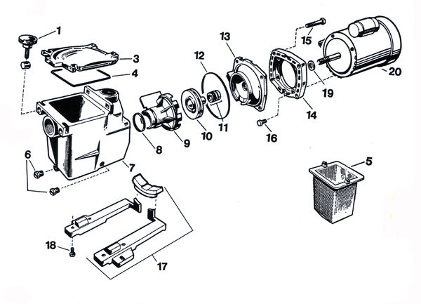 hayward northstar pump diagram  hayward  free engine image for user manual download