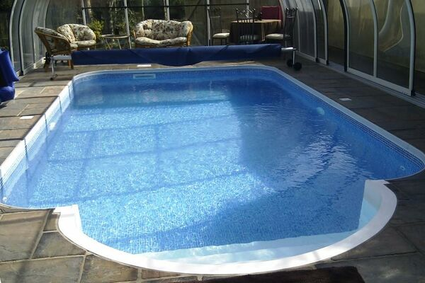 Swimming Pools In Ground Pools Above Ground Pools From Dolphin Leisure The Pool Spa Specialists