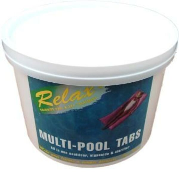 Chlorine Based Multi Pool Tablets for Swimming Pools
