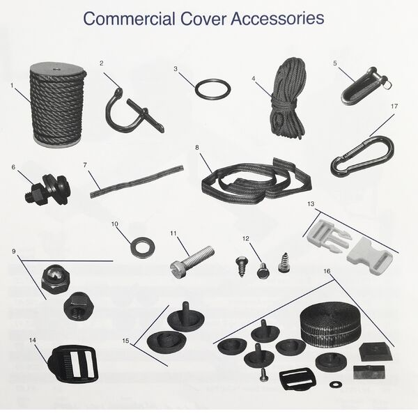 Commercial Cover Accessories
