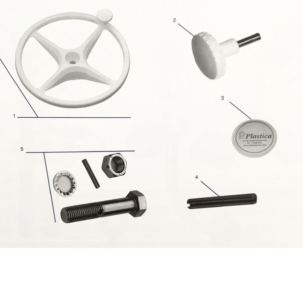 Reel Easy   Sidelock Steering Wheel Components